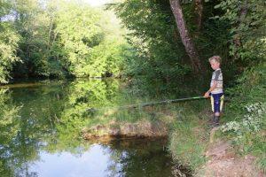 hébergement pour la pêche Valouse