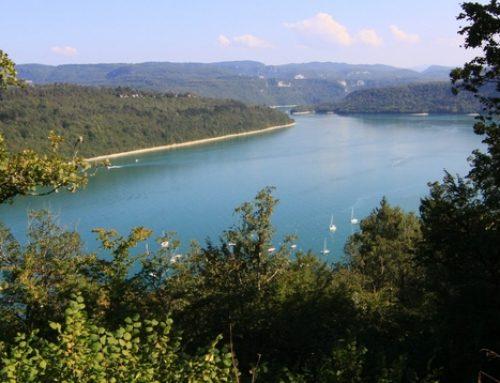 Les gorges de l'Ain du Jura