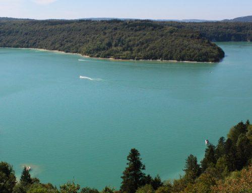 Les gorges de l'Ain entre Lyon et Genève