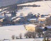 gite neige Jura