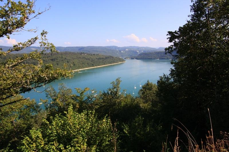 se baigner chalets dans le Jura